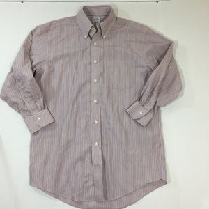 Brooks Brothers Striped Dress Shirt 15 32
